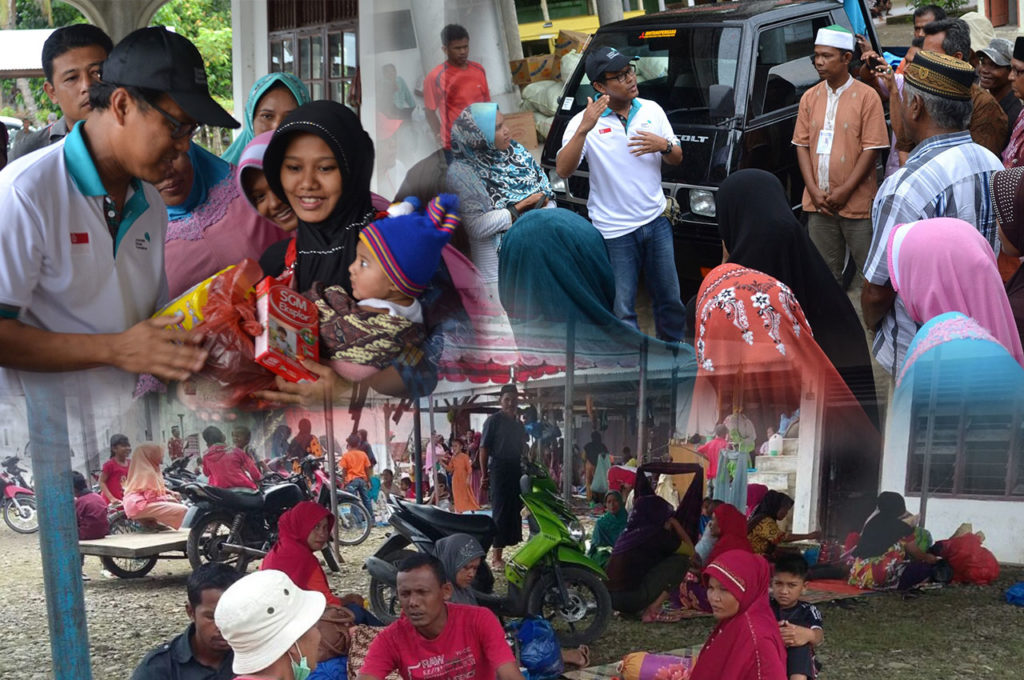 TIMELY AID ALLEVIATES ACEH'S QUAKE SURVIVORS